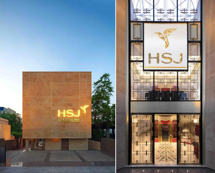 """facade HSJ jewellery RMDK indiaartndesign"""