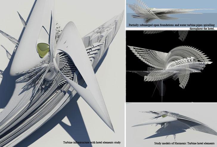 """study models harmonic turbine hotel margot krasojevic indiaartndesign"""