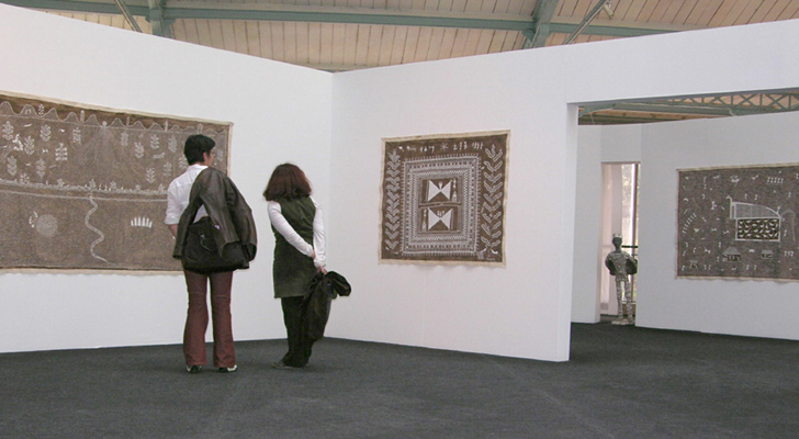 """jivya soma mashe paris exhibition indiaartndesign"""