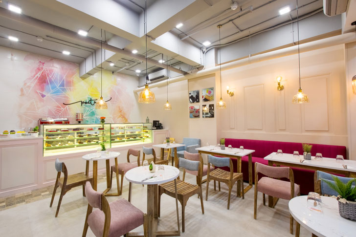 """overview kamala mills poetry restaurants swati shah designs indiaartndesign"""