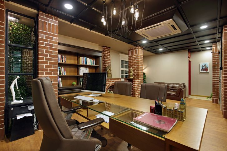 """cabin office interior chitte associates indiaartndesign"""
