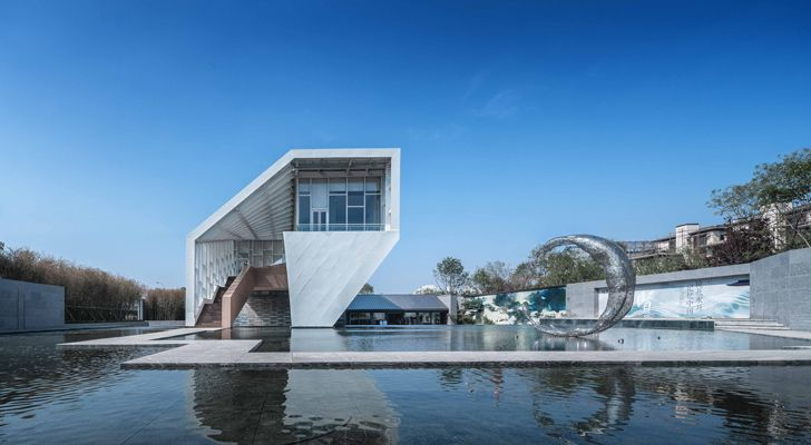 """Guofeng Library Dalian Lacime Architects indiaartndesign"""