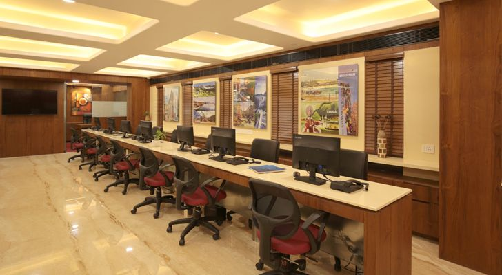 """workstations ramakrishna travels modi srivastava & associates indiaartndesign"""