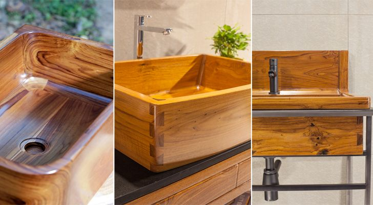 """wooden basins solli concepts indiaartndesign"""