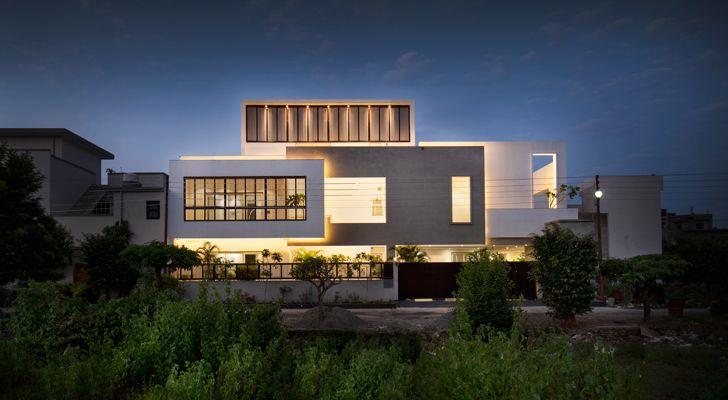 """facade casa forma renesa architecture indiaartndesign"""