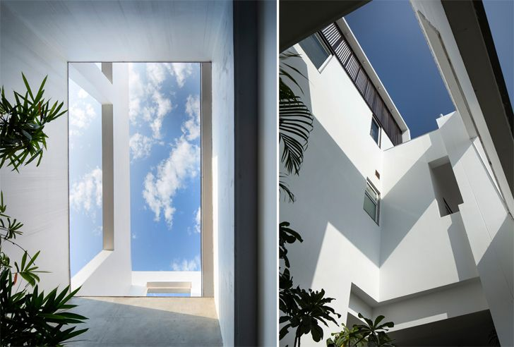 """strategic voids casa forma renesa architecture indiaartndesign"""