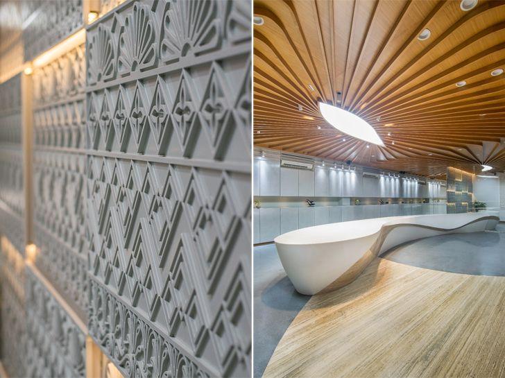 """""""motif wall detail JJ silks studioTAB indiaartndesign"""""""