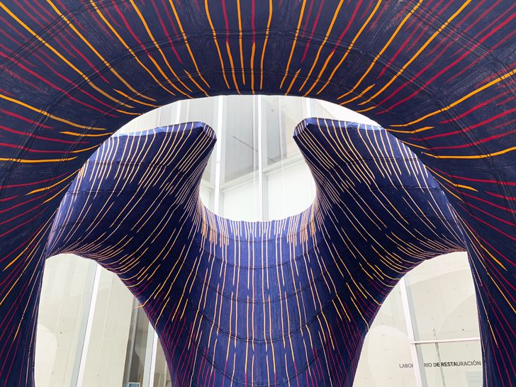 """ZHA knitCandela digital design adn fabrication indiaartndesign"""