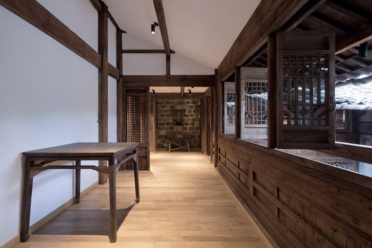 """corridor Wuyuan Skywells hotel anySCALE architecture design studio indiaartndesign"""