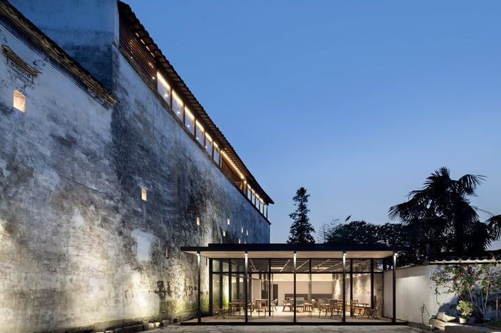 """facade Wuyuan Skywells hotel anySCALE architecture design studio indiaartndesign"""