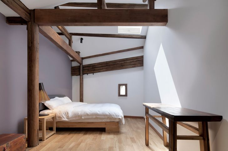 """guest suite Wuyuan Skywells hotel anySCALE architecture design studio indiaartndesign"""