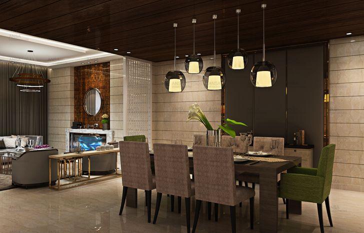 """dining room ansa interiors indiaartndesign"""