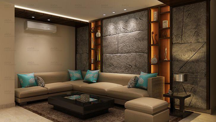 """family room ansa interiors indiaartndesign"""