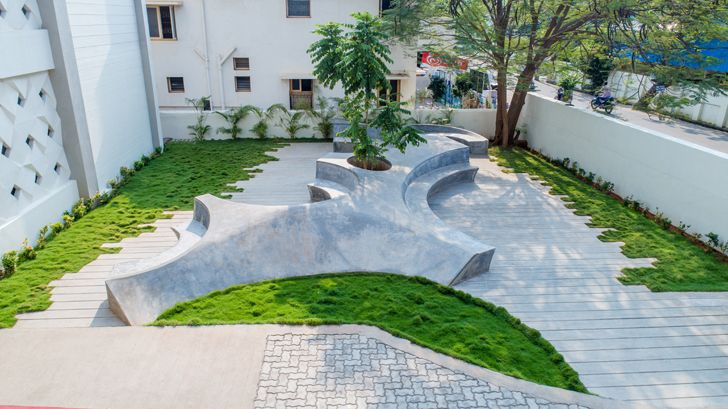 """landscape design auditorium Architecture Interspace indiaartndesign"""