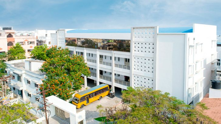 """puducherry school auditorium Architecture Interspace indiaartndesign"""