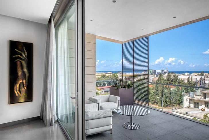 """spacious balcony Beirut residence Askdeco indiaartndesign"""