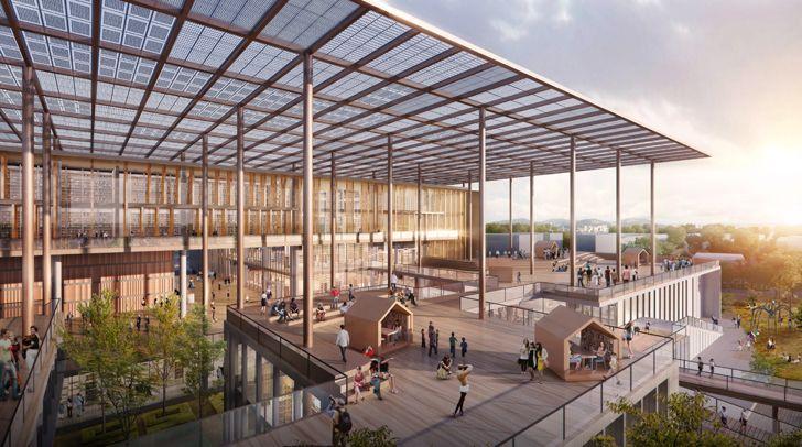 """""""big canopy taiwan library carlo ratti indiaartndesign"""""""