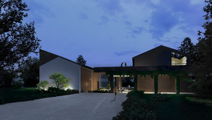 """Parma house around a tree carlo ratti associati indiaartndesign"""