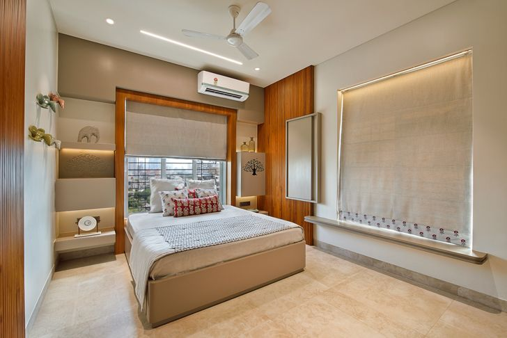 """bedroom residence HS Desiigns indiaartndesign"""