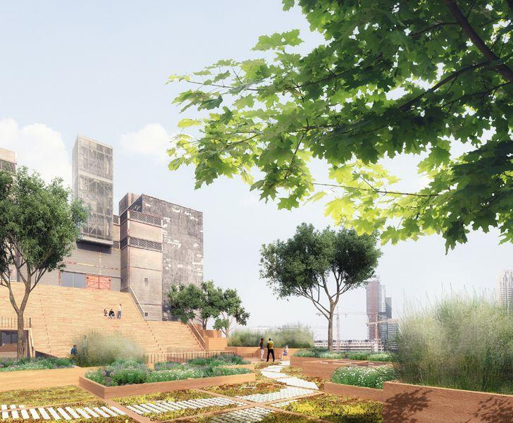 """""""Maassilo roof transformation sky garden JA architects indiaartndesign"""""""