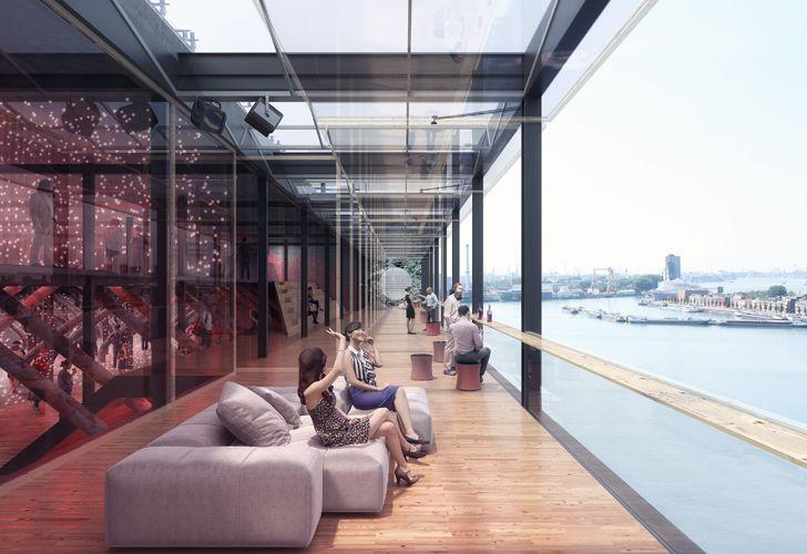 """""""factory sky box JA architects indiaartndesign"""""""