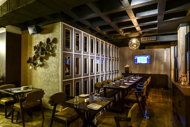 """mimicing the ceiling bling restaurant kinteriors indiaartndesign"""