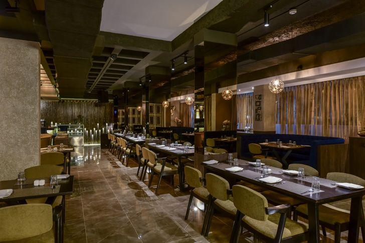 """perspective bling restaurant kinteriors indiaartndesign"""