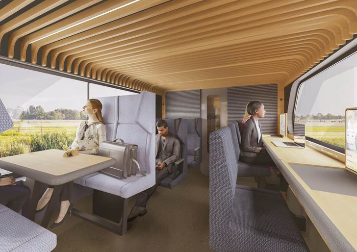 """first class train of the future mecanoo indiaartndesign"""