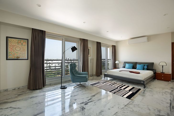 """bedroom2 penthouse studio yamini indiaartndesign"""
