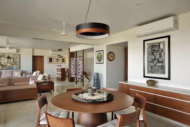 """dining room penthouse studio yamini indiaartndesign"""