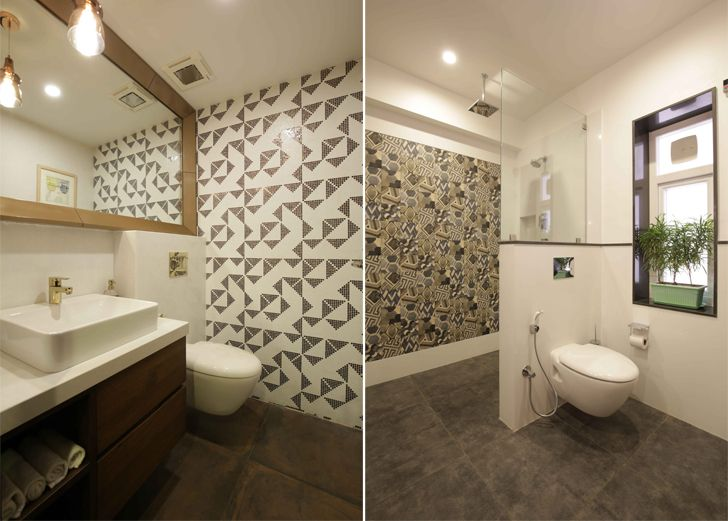 """elegant bathrooms penthouse studio yamini indiaartndesign"""