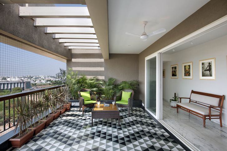 """outdoor space penthouse studio yamini indiaartndesign"""