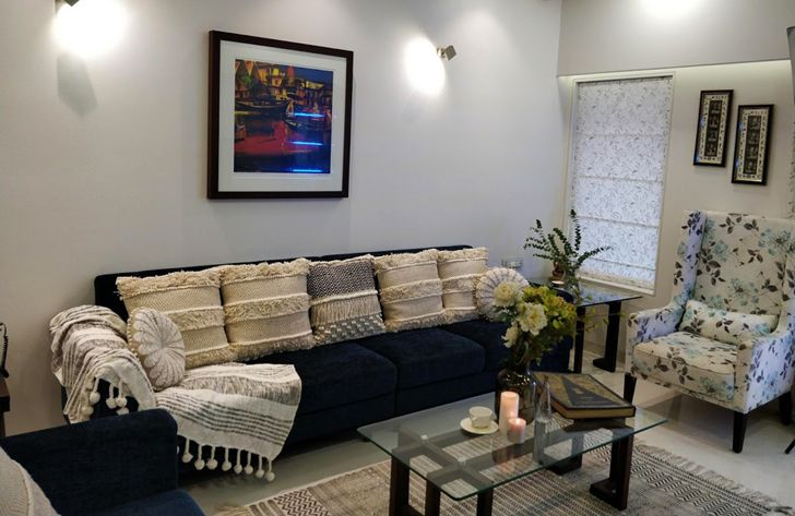 """elegant living room residence patil design studio indiaartndesign"""