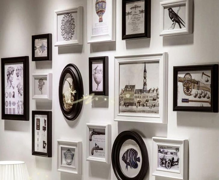 """photo wall decor ideas indiaartndesign"""