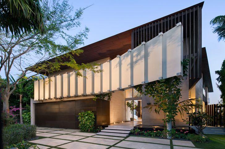 """""""facade Dilido island residence SAOTA indiaartndesign"""""""