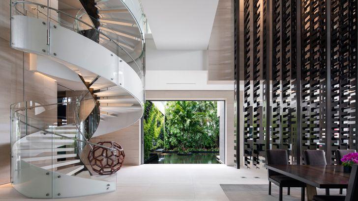 """""""spiral staircase Dilido island residence SAOTA indiaartndesign"""""""