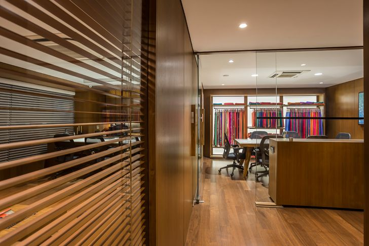"""office zones ozone textiles office sharan arch+design indiaartndesign"""