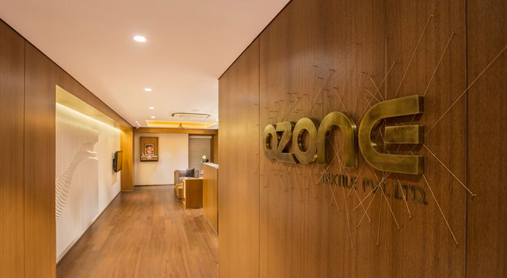"""ozone textiles office sharan arch+design indiaartndesign"""