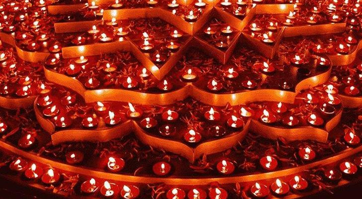 """diyas traditional touch diwali celebration indiaartnesign"""
