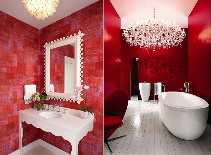 """red in interiors home decor ideas diwali indiaartndesign"""