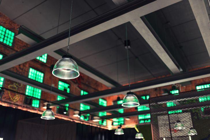 """industrial ceiling converse flagship verona alberto apostoli indiaartndesign"""