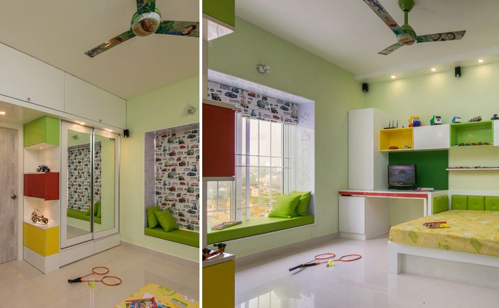 """childrens bedroom interiors by ranjani IBR designs indiaartndesign"""