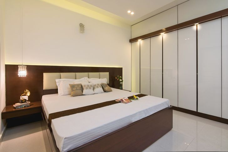 """guest bedroom interiors by ranjani IBR designs indiaartndesign"""