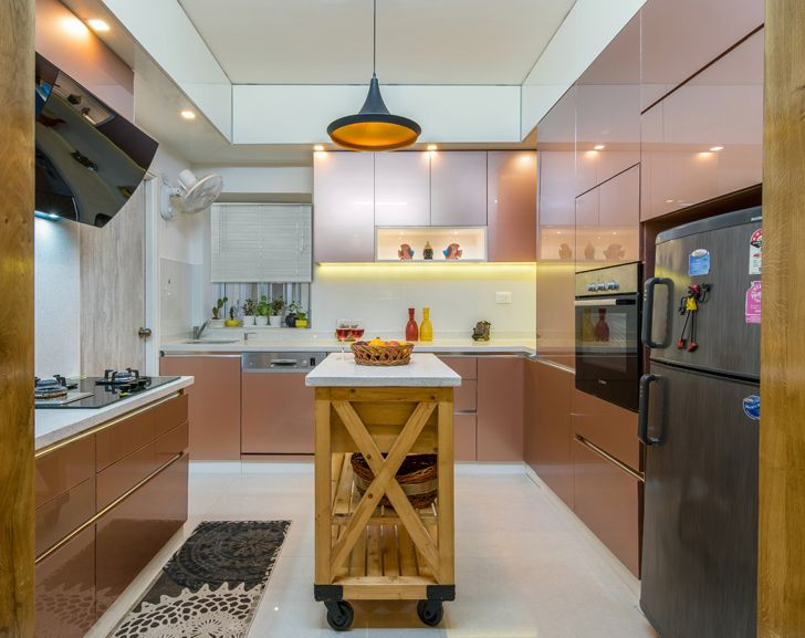 """kitchen interiors by ranjani IBR designs indiaartndesign"""