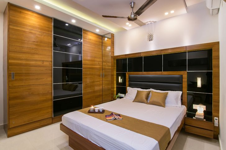 """master bedroom interiors by ranjani IBR designs indiaartndesign"""