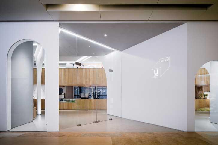 """""""entrance U concept gallery LUKSTUDIO indiaartndesign"""""""