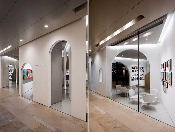 """""""mirror effect U concept gallery LUKSTUDIO indiaartndesign"""""""