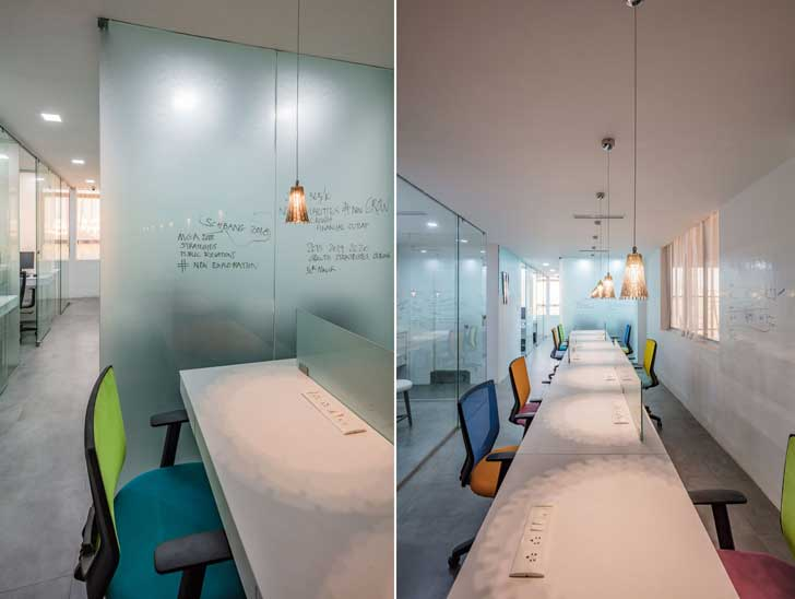 """co working spaces worklabz mathew ghosh architects indiaartndesign"""