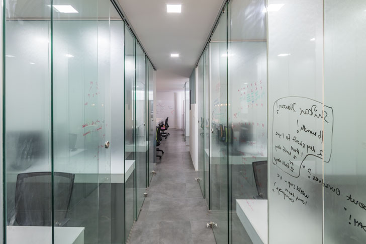 """glass walls worklabz mathew ghosh architects indiaartndesign"""