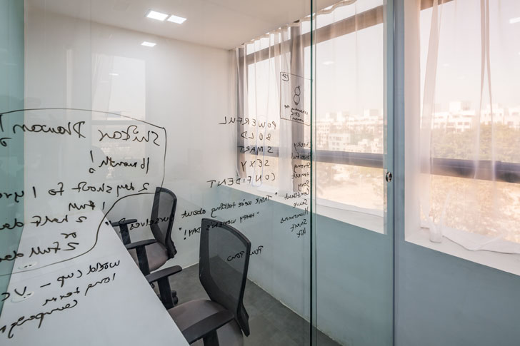 """writing on glass mathew ghosh architects indiaartndesign"""